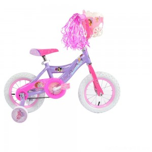 "Black Friday - Huffy Disney Princess Cruiser Bike 12"" - Purple, Girl's"
