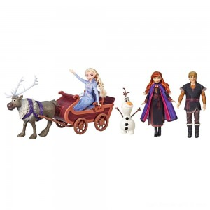 Disney Frozen 2 Sledding Adventures Doll Pack