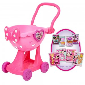 Black Friday - Disney Minnie's Happy Helpers Bowtique Shopping Cart