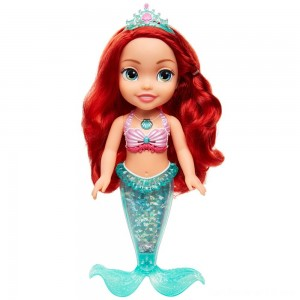Black Friday - Disney Princess Sing & Sparkle Ariel Bath Doll