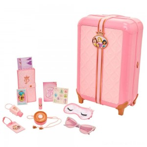 Black Friday - Disney Princess Style Collection Play Suitcase Travel Set