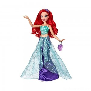 Black Friday - Disney Princess Style Series Ariel Doll with Purse and Shoes