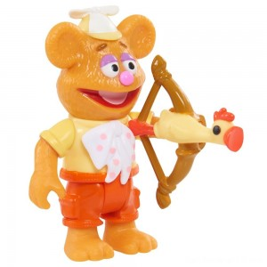 Disney Junior Muppet Babies Poseable Fozzie