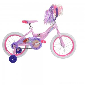 "Black Friday - Huffy Disney Princess Bike 16"" - Pink, Girl's"