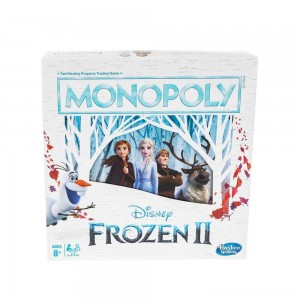 Black Friday - Monopoly Game: Disney Frozen 2 Edition Board Game