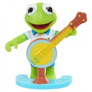 Disney Junior Muppet Babies Poseable Kermit