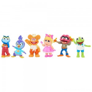 Black Friday - Disney Junior Muppet Babies Playroom Figure Set
