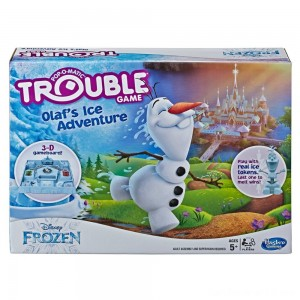 Black Friday - Trouble Disney Frozen Olaf's Ice Adventure Game