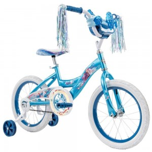 "Black Friday - Huffy Disney Frozen 2 16"" Bike - Blue, Girl's"