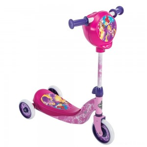 Black Friday - Huffy Disney Princess Secret Storage Scooter, Kids Unisex, Pink