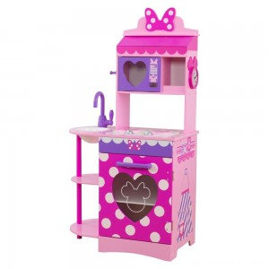 Black Friday - KidKraft Disney Jr. Minnie Mouse Toddler Kitchen