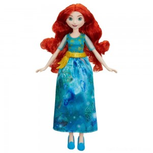 Black Friday - Disney Princess Royal Shimmer - Merida Doll