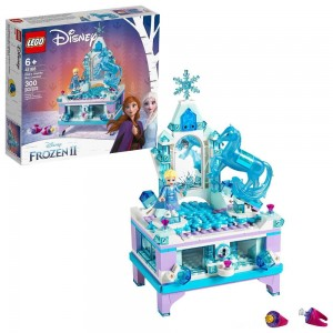 Black Friday - LEGO Disney Princess Frozen 2 Elsa's Jewelry Box Creation 41168 Disney Jewelry Box Building Kit 300pc