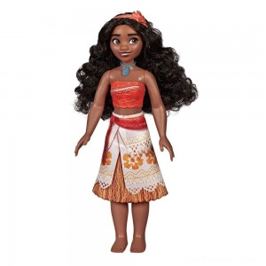 Disney Princess Royal Moana Shimmer Doll