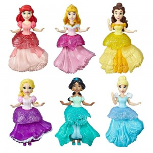 Disney Princess Rainbow Collection - 6pk