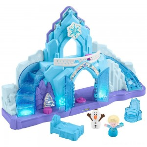 Black Friday - Fisher-Price Little People Disney Frozen Elsa's Ice Palace