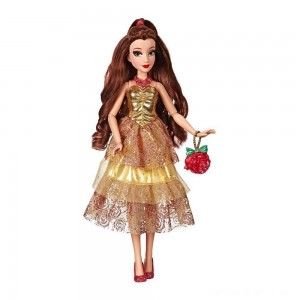Black Friday - Disney Princess Style Series - Belle Doll in Contemporary Style with Purse & Shoes