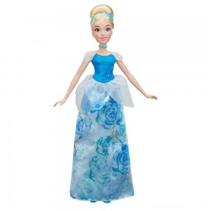 Disney Princess Royal Shimmer - Cinderella Doll