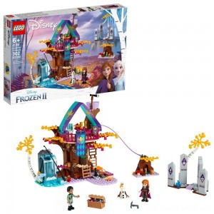 Black Friday - LEGO Disney Princess Frozen 2 Enchanted Treehouse 41164 Toy Treehouse Building Kit for Pretend Play