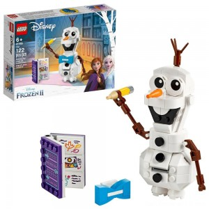 Black Friday - LEGO Disney Frozen 2 Olaf 41169 Olaf Snowman Toy Figure Building Kit 122pc