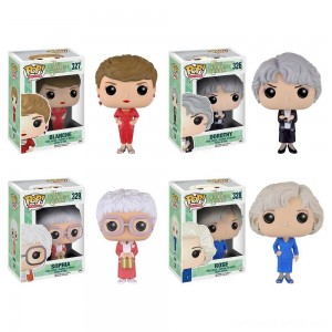 Black Friday - Funko Golden Girls: POP! TV Collectors Set; Sophia, Rose, Blanche, Dorothy