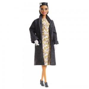 Black Friday - Barbie Signature Inspiring Women Series Rosa Parks Collector Doll