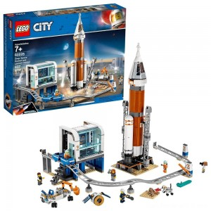 Black Friday - LEGO City Space Deep Space Rocket and Launch Control 60228 Model Rocket Building Kit with Minifigures