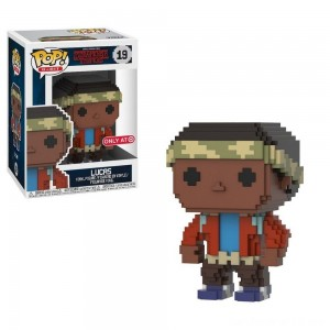 Funko 8-Bit POP: Stranger Things S3 - Lucas