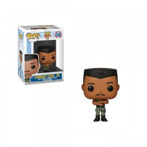 Black Friday - Funko POP! Disney: Toy Story 4 - Combat Carl Jr.