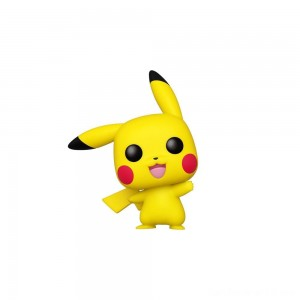 Black Friday - Funko POP! Games: Pokemon - Pikachu (Waving)
