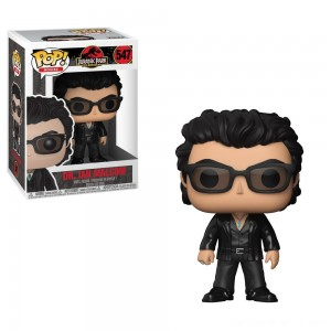 Black Friday - Funko POP! Movies: Jurassic Park 25th Anniversary - Dr. Ian Malcolm - Minifigure