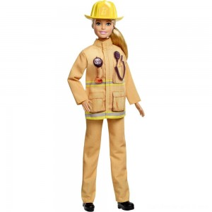 Black Friday - Barbie Careers 60th Anniversary Firefighter Doll
