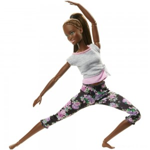 Black Friday - Barbie Made To Move Yoga Nikki Doll