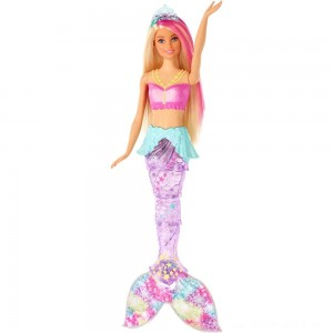 Black Friday - Barbie Dreamtopia Sparkle Lights Mermaid
