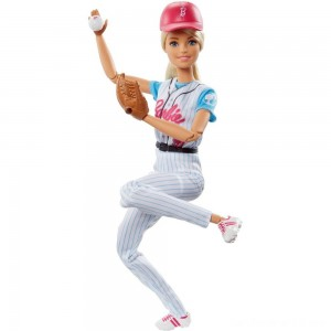 Black Friday - Barbie Made to Move Baseball Player Doll
