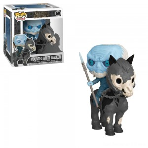 Black Friday - Funko POP! Rides: Game of Thrones - White Walker on Horse