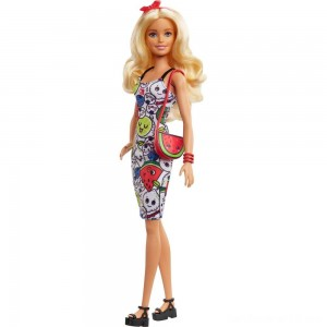 Black Friday - Barbie Crayola Color-in Fashions Doll & Fashions