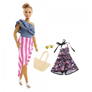 Black Friday - Barbie Fashionista Bon Voyage Doll
