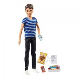 Black Friday - Barbie Skipper Babysitters Inc. Boy Sitter Doll and Accessory
