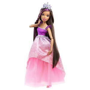 "Barbie Dreamtopia Princess 17"" Nikki Doll"