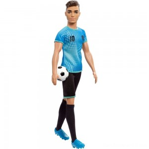 Barbie Ken Career Soccer Player Doll