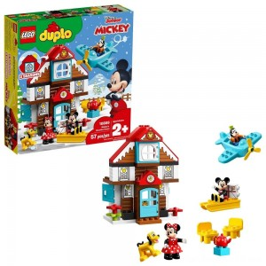 Black Friday - LEGO DUPLO Disney Mickey's Vacation House 10889 Toddler Building Set with Minnie Mouse