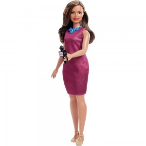 Black Friday - Barbie Careers 60th Anniversary News Anchor Doll