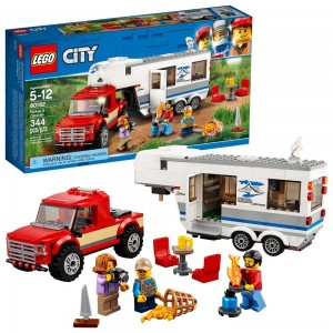 Black Friday - LEGO City Great Vehicles Pickup & Caravan 60182