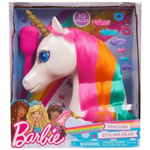 Black Friday - Barbie Dreamtopia Unicorn Styling Head 10pcs