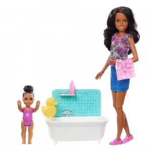 Barbie Skipper Babysitters Inc. Doll & Playset - Dark Hair
