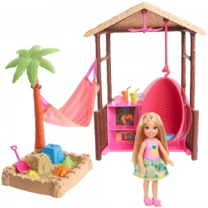 Barbie Chelsea Tiki Hut Playset