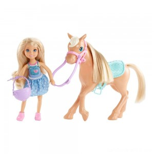 Black Friday - Barbie Chelsea Doll & Pony Playset