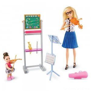 Black Friday - Barbie Music Teacher Doll & Playset