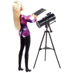 Black Friday - Barbie National Geographic Astronomer Playset